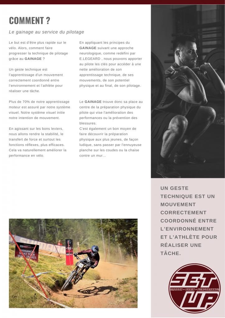 Gainage & vélo